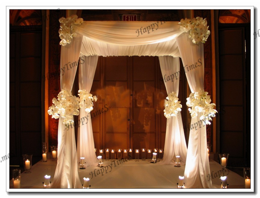 Canopy wedding reception for Hall decoration pictures