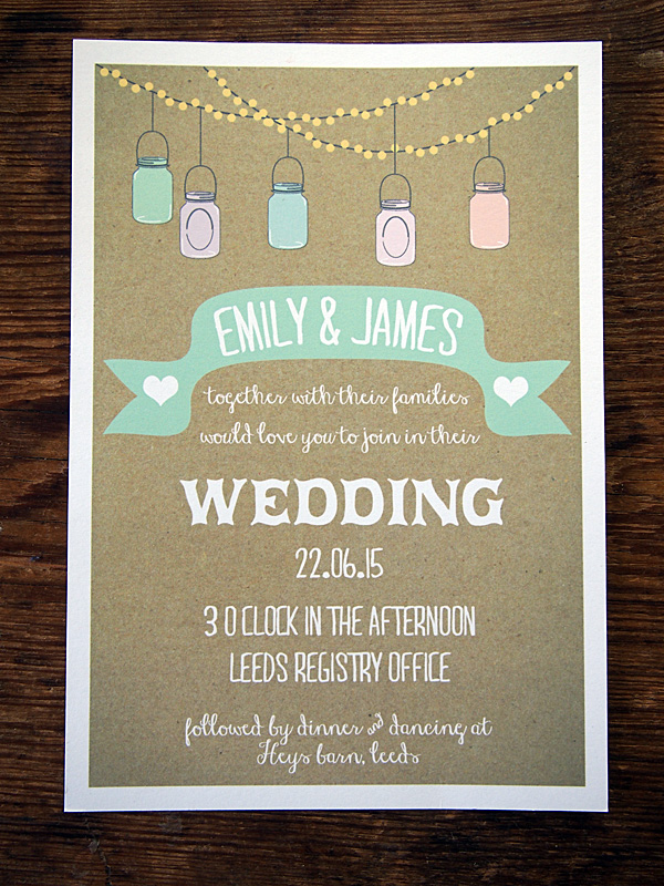 Wedding Gifts For Parents Ireland : Quirky & Vintage Wedding Invitations & Stationery By A Bird & A Bee