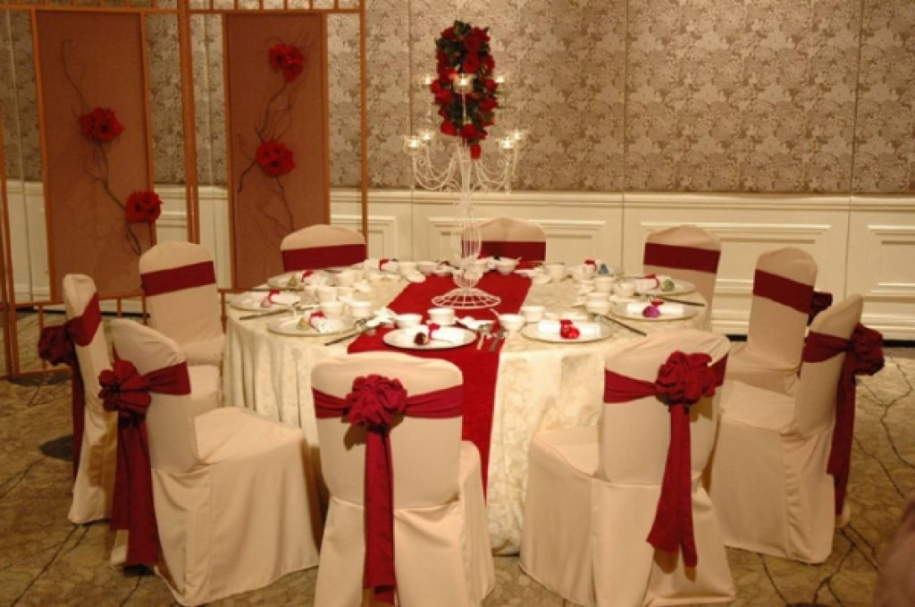 Red And White Wedding Ideas Pics Photos
