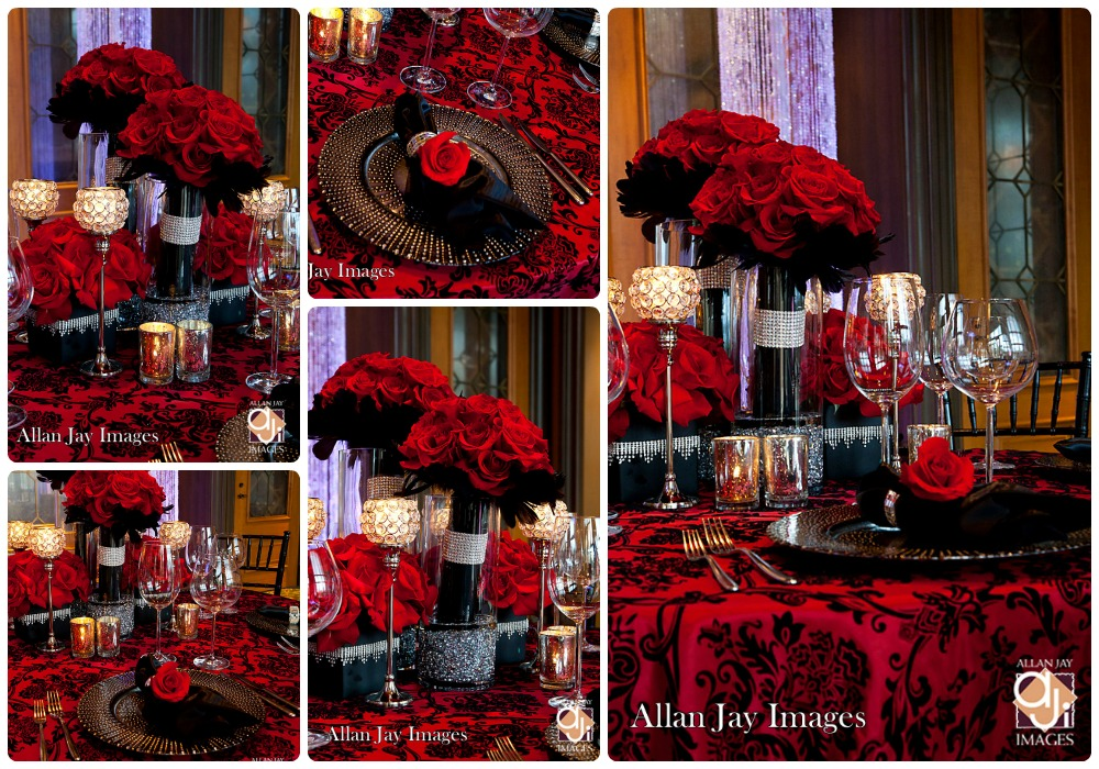 Red black and silver wedding red black and silver wedding decoration ideas junglespirit Image collections