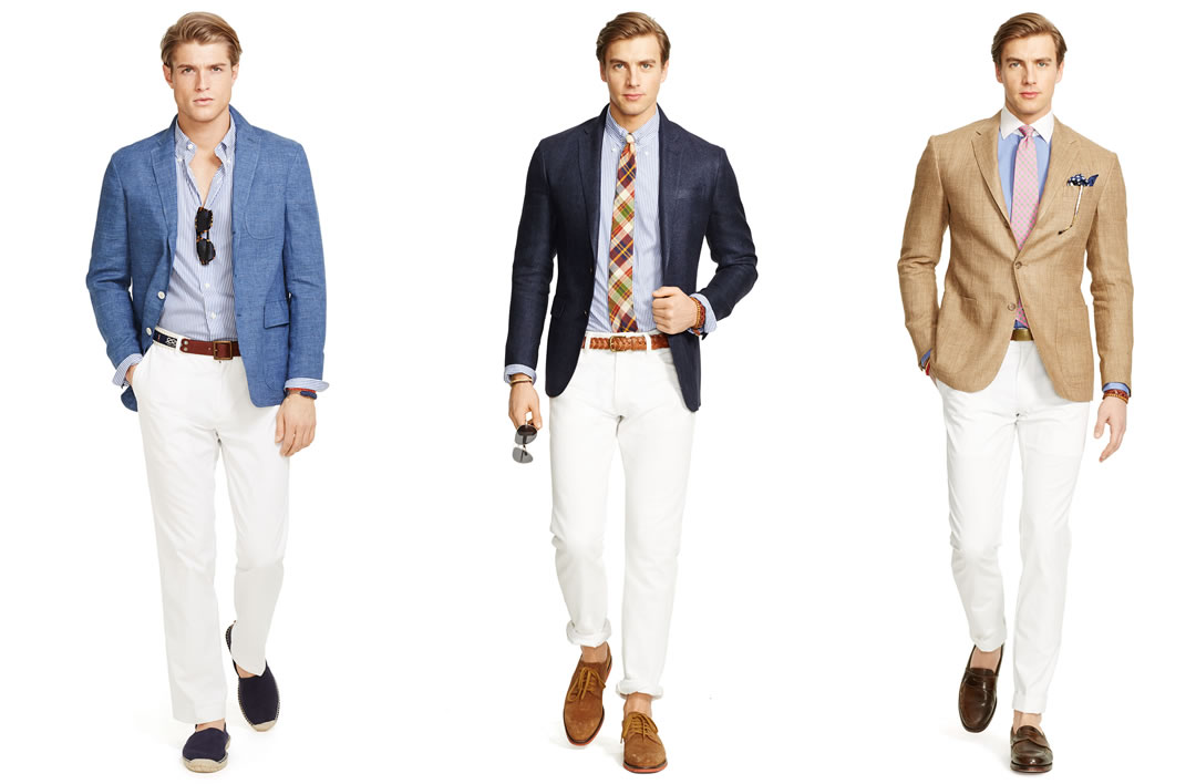 Men's Summer Wedding Attire