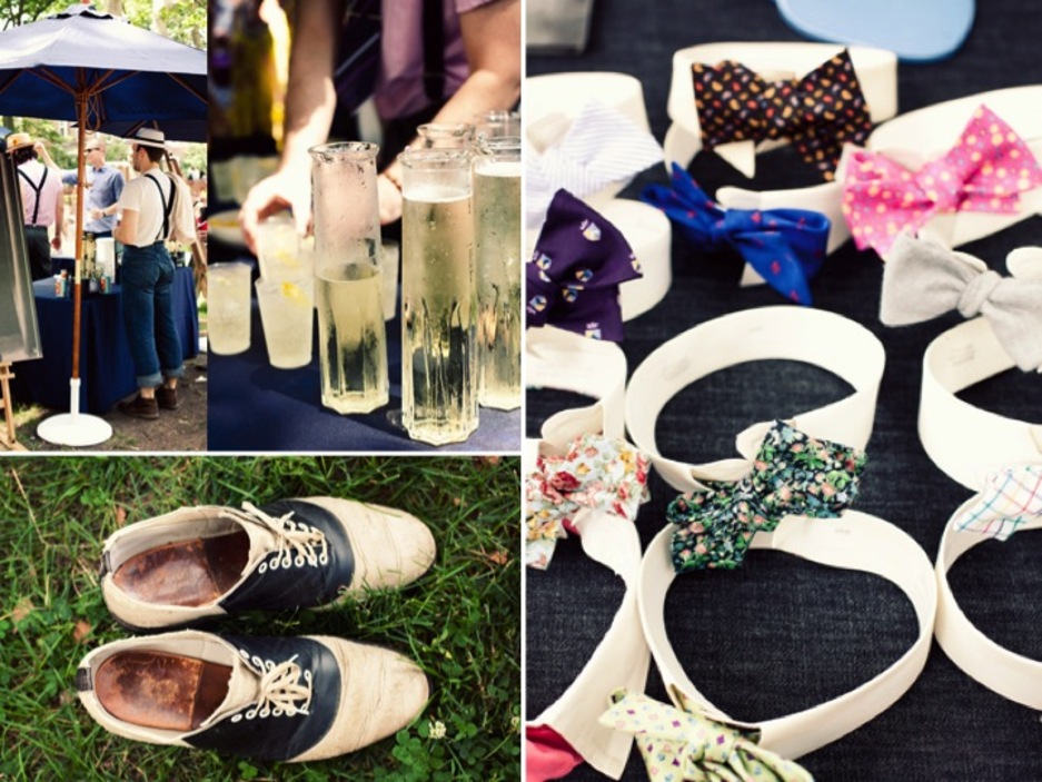 Roaring 20s Summer Wedding Ideas For An Outdoor New York Reception