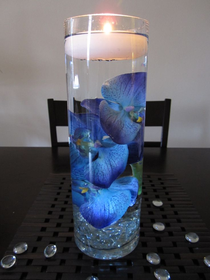Wedding centerpieces royal blue junglespirit Images