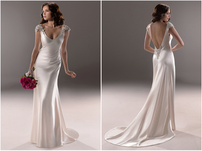 Simple Wedding Dresses: Simple Elegant Wedding Dress