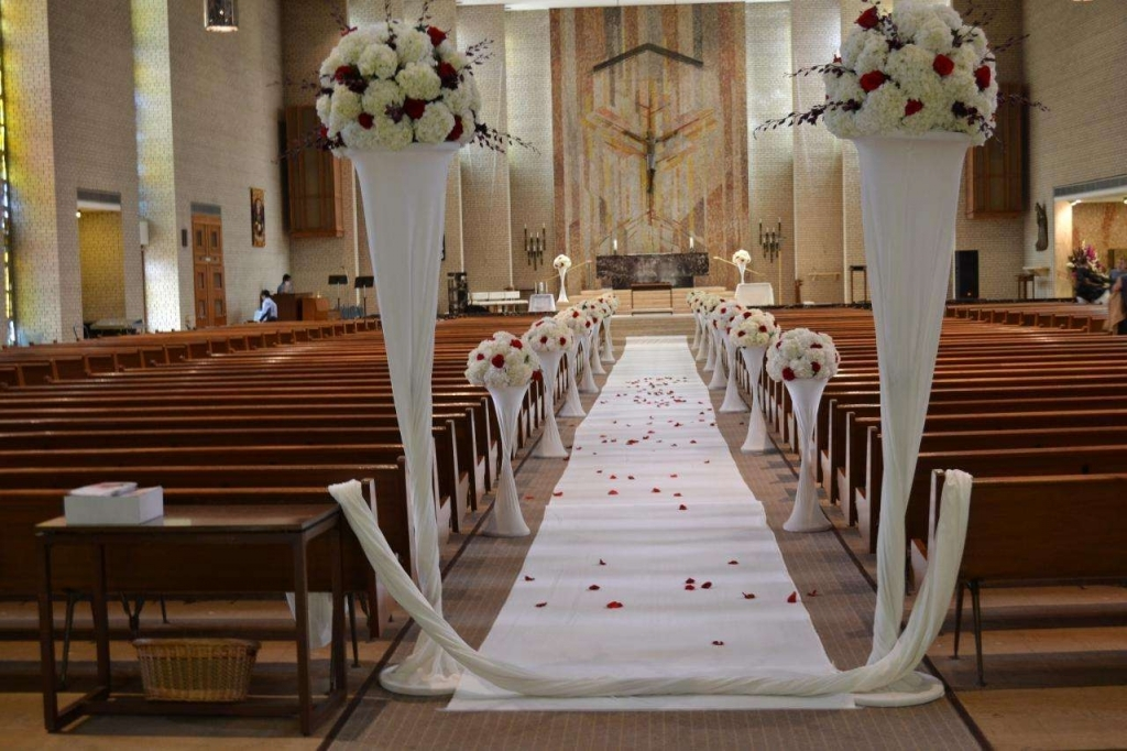 Simple Church Decorations For Wedding On Decorations With Creative