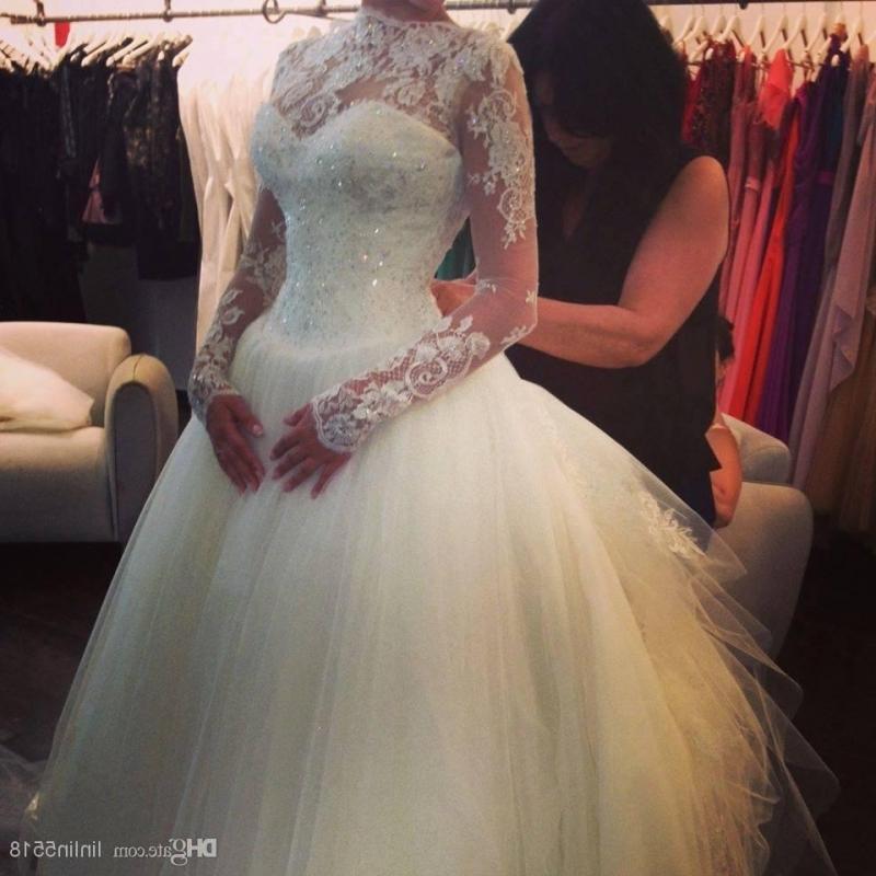 Beautiful bling wedding dress for Bling wedding dresses 2017