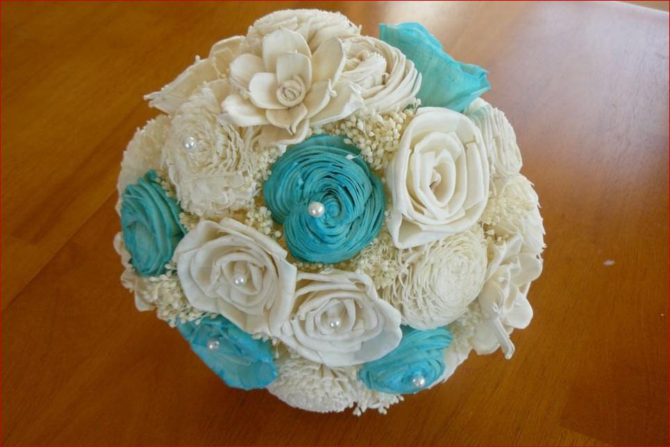 Tiffany Blue Wedding Flowers