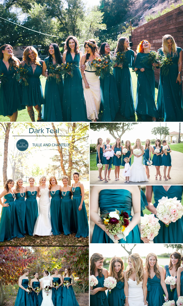 Bridesmaid dress colors for fall wedding top 10 colors for fall bridesmaid dresses 2015 junglespirit Image collections