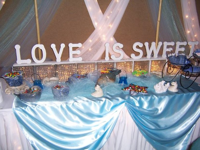 Beach Theme Centerpieces For Wedding Tables