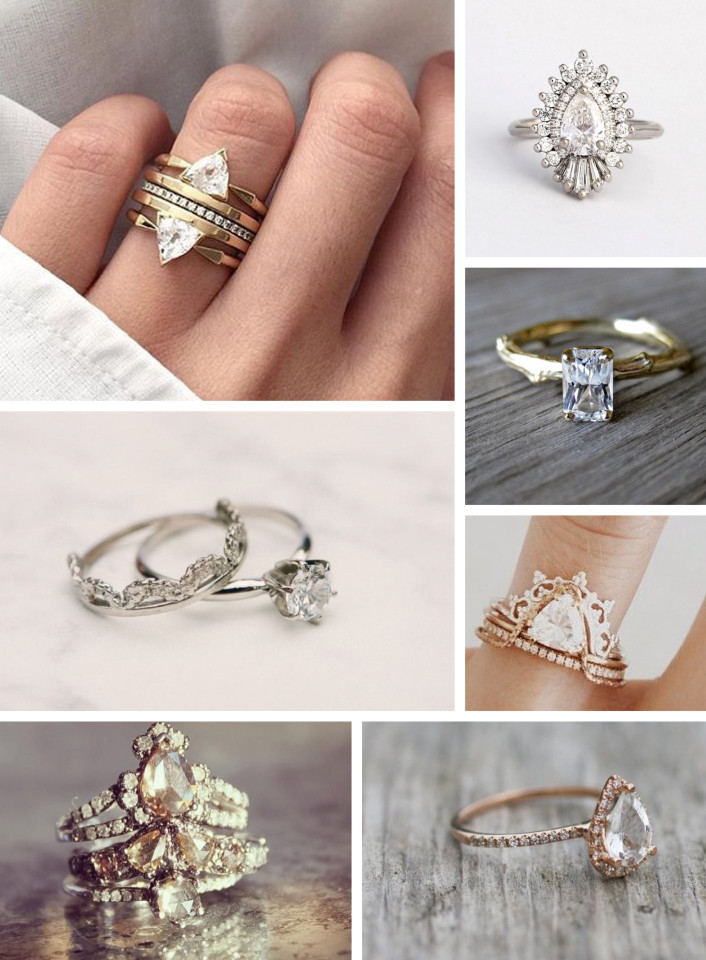 top engagement ring trends for 2016 boho wedding ring - Bohemian Wedding Rings