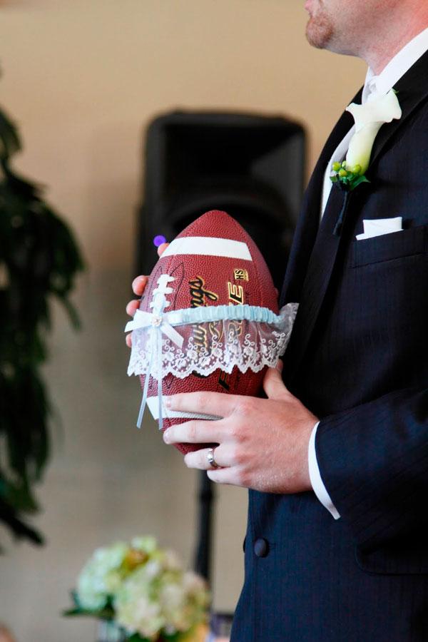 Touchdown Worthy Football Themed Wedding Ideas