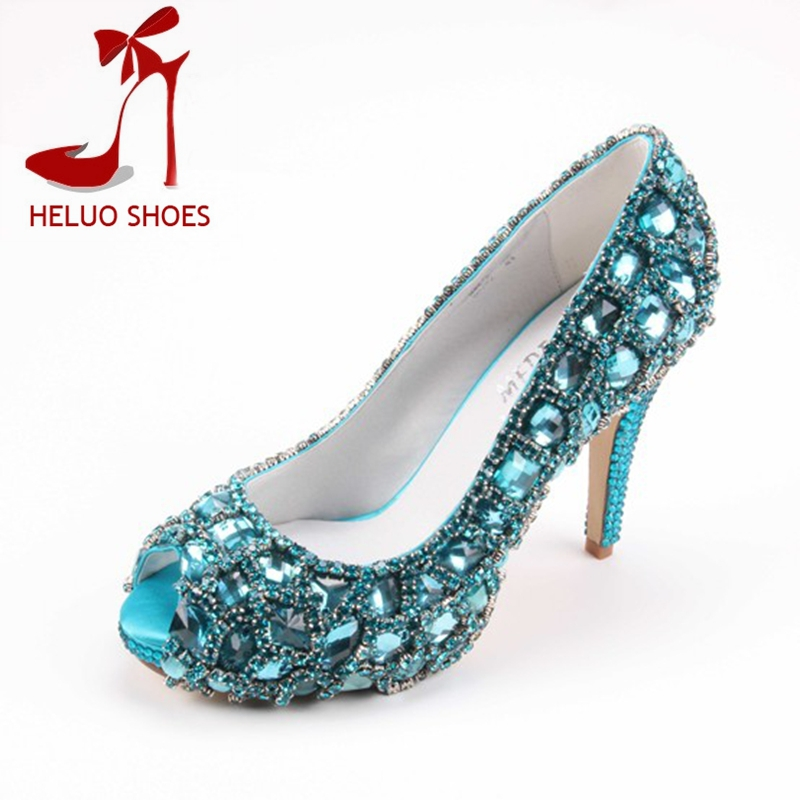 Turquoise Wedding Heels: Turquoise Wedding Shoes