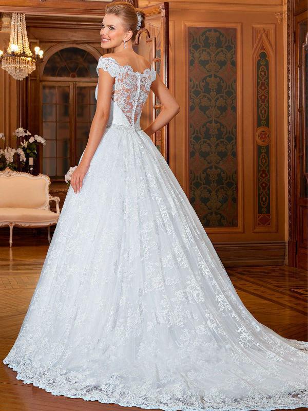 Vintage Victorian Style Wedding Dress