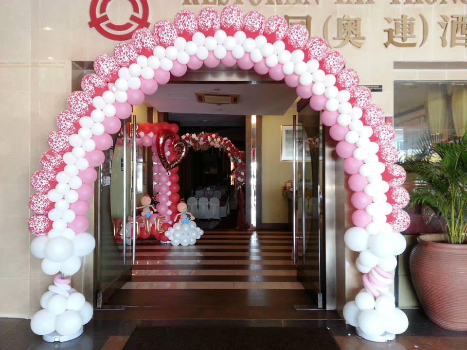 Wedding balloon arches for Arch decoration supplies