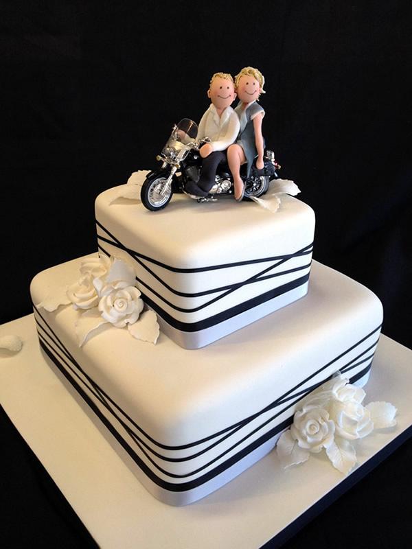 motorcycle wedding cakes. Black Bedroom Furniture Sets. Home Design Ideas