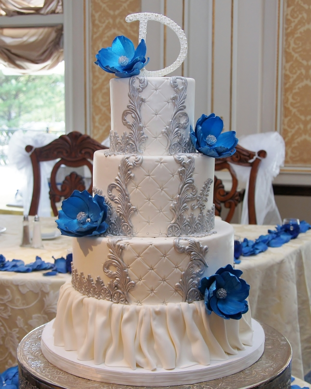 Royal Blue And Silver Wedding Ideas: Royal Blue White And Silver Wedding