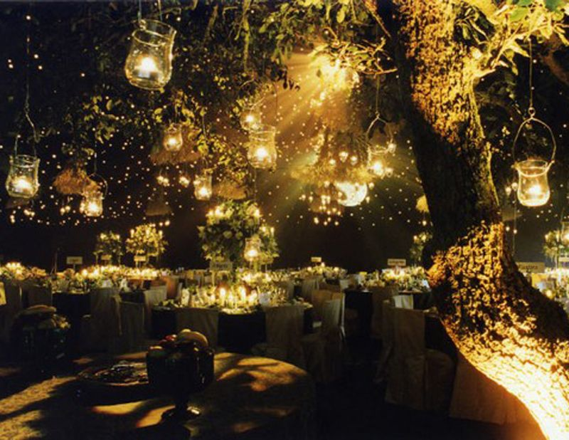 Wedding Decoration Ideas Night Outdoor Reception Emcraft Therapyboxfo