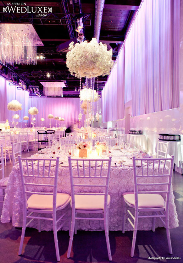 Wedding Decoration Ideas Purple And White