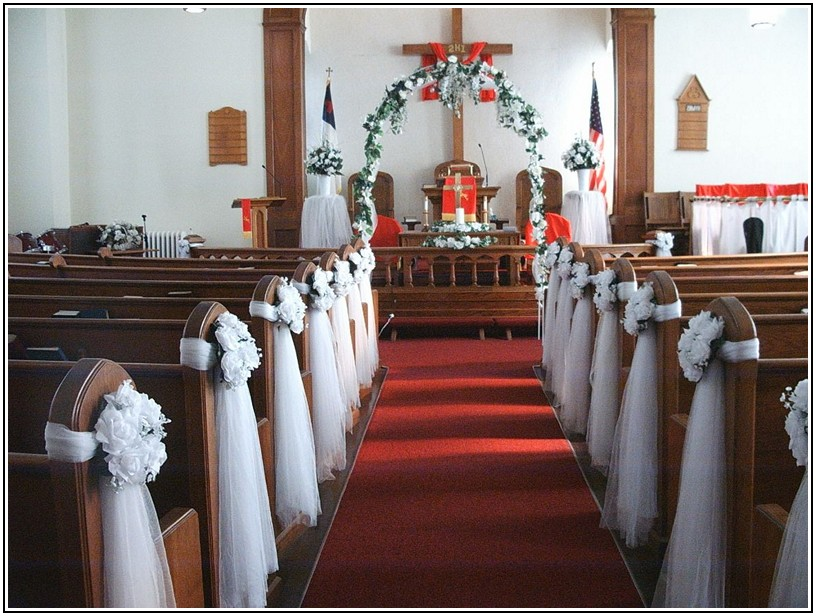 wedding decorations for church chairs wedding decorations for church chairs 9107