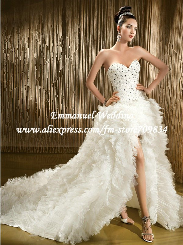 Corset top wedding dress for Wedding dress with corset top