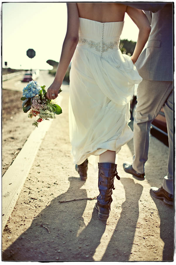 Biker Wedding Dresses