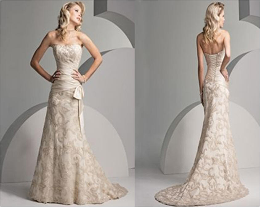 Lace Wedding Gowns: Ivory Lace Wedding Dress