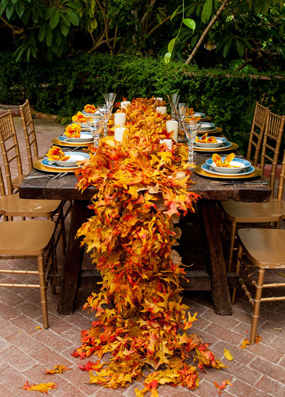 wedding fall decorations autumn wedding ideas 9450