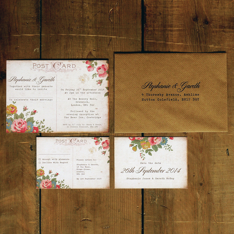 Wedding Invitation Name Tags