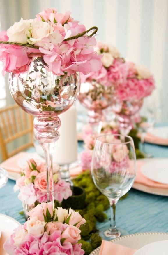 Fl Centerpieces Wedding Reception Flowers