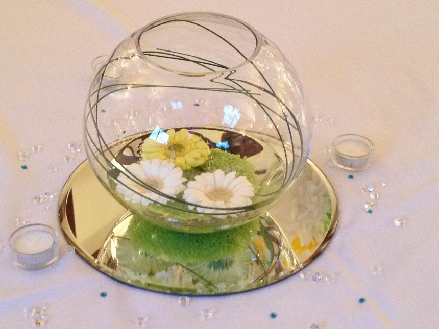 Wedding Table Decorations Fish Bowls Emasscraft