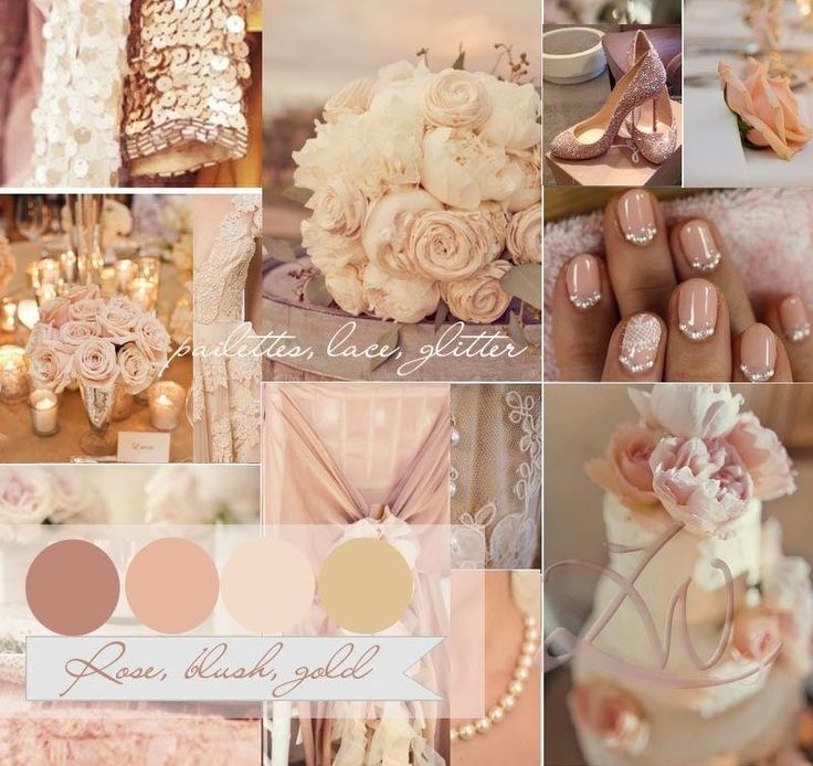 Blush Pink And Gold Wedding Whats Not Hot For Your Summer