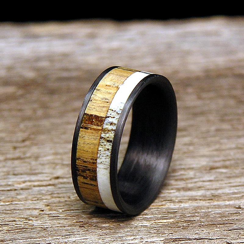 Shotgun Barrel Wedding Ring