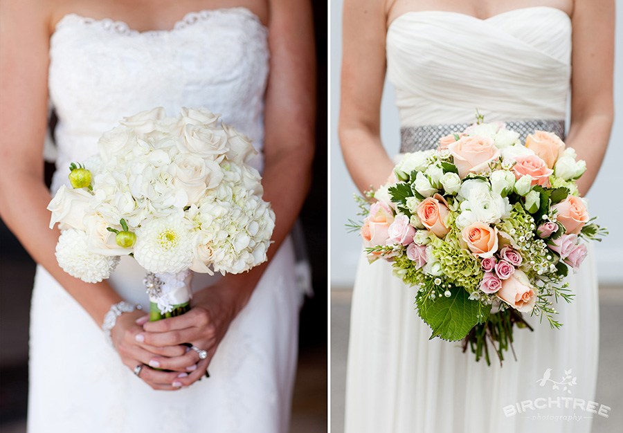 White And Pink Flower Bouquets Wedding Bouquet