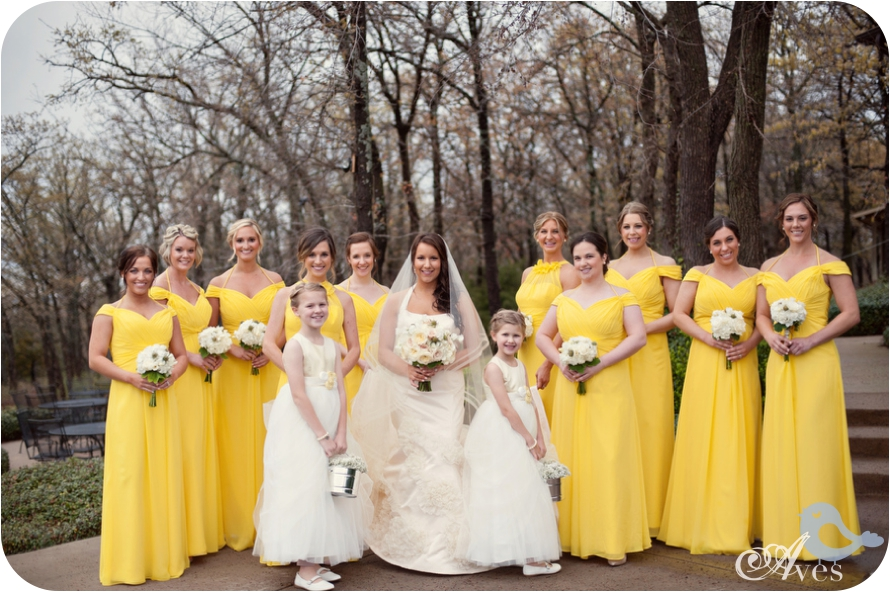 Canary Yellow Dress For Weddings