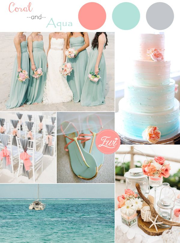 Emejing coral colored wedding decorations photos styles ideas wedding decoration theme color image collections wedding dress junglespirit Choice Image