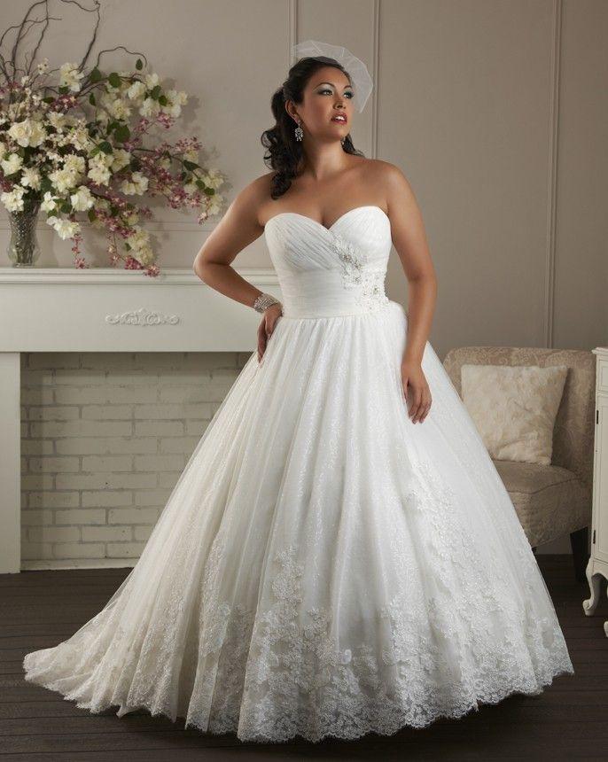 Beautiful Plus Size Designer Wedding Dresses Gallery - Styles ...