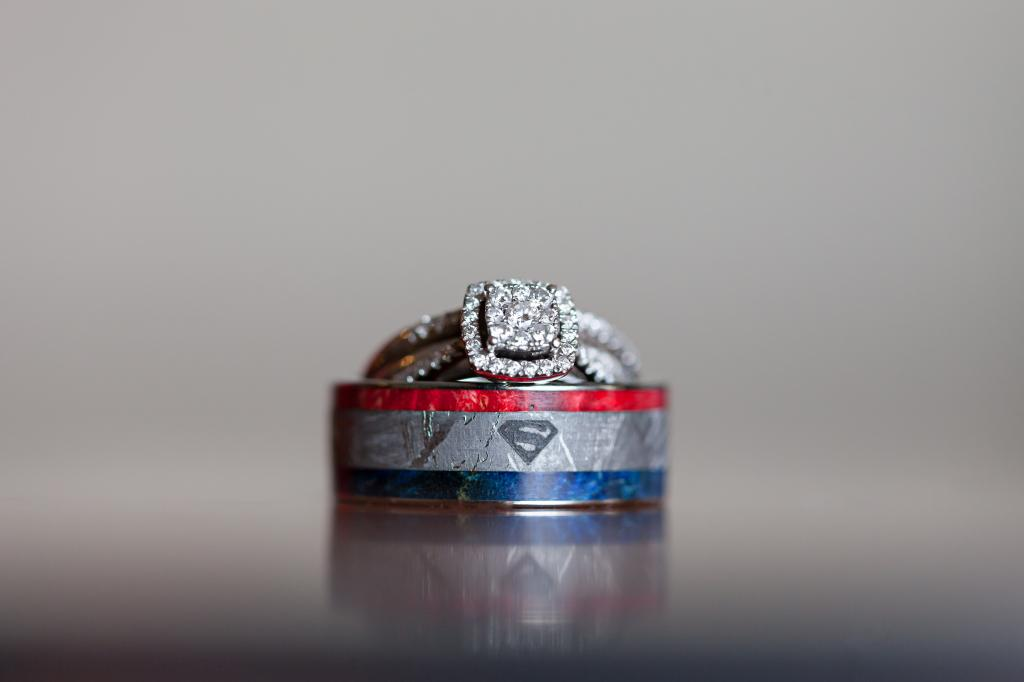 Superman Wedding Band