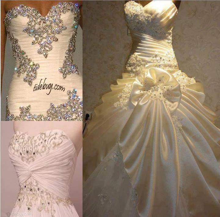 Beautiful Sparkly Wedding Dresses   Wedding Gallery