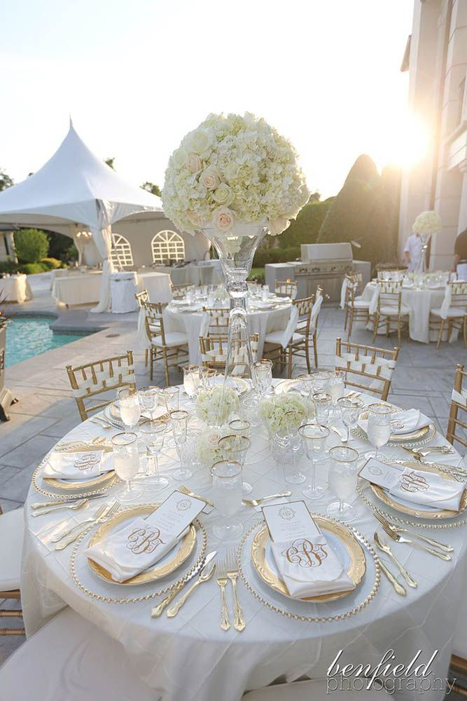 20 Pure White Wedding Decor Ideas For 15 Must