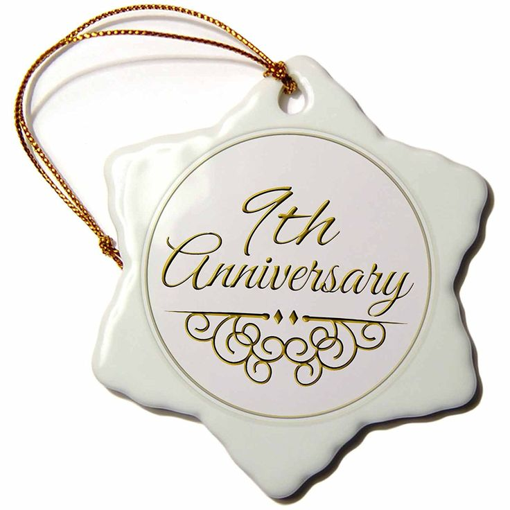 9th Year Wedding Anniversary Gifts: 9th Wedding Anniversary Gift
