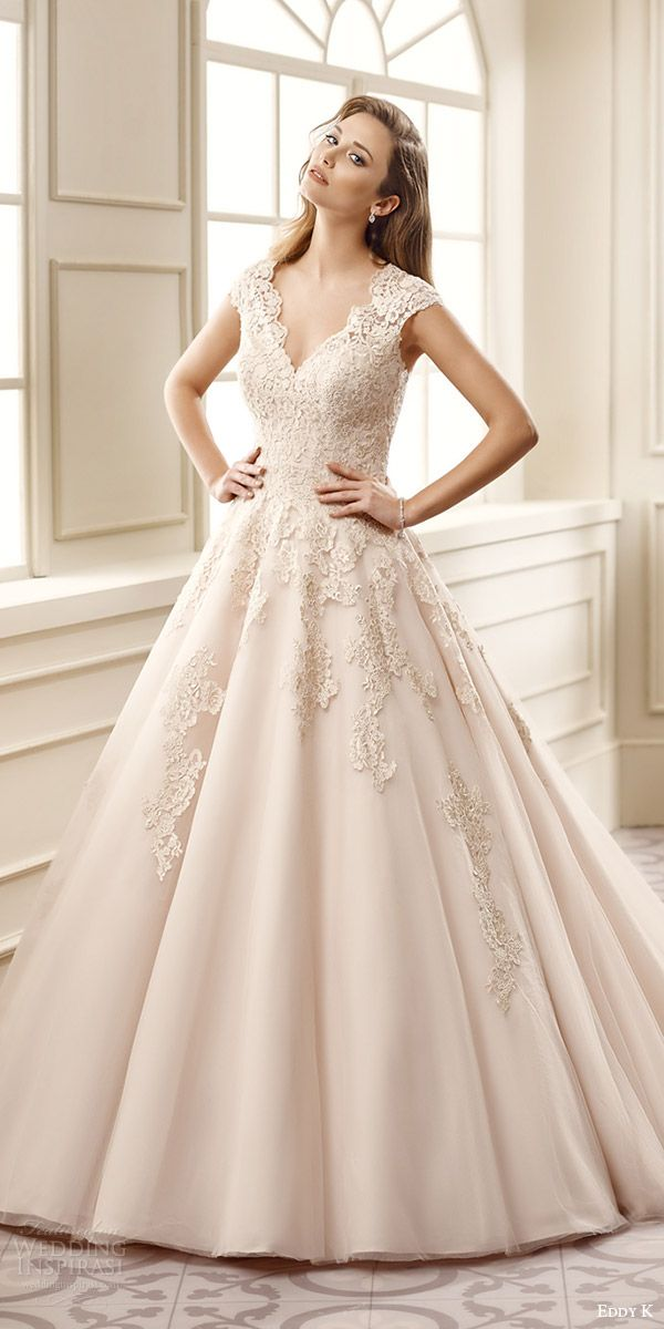 Champagne Color Bridal Gowns | Wedding Gallery