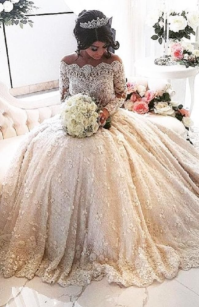 Diamond Themed Wedding Dress