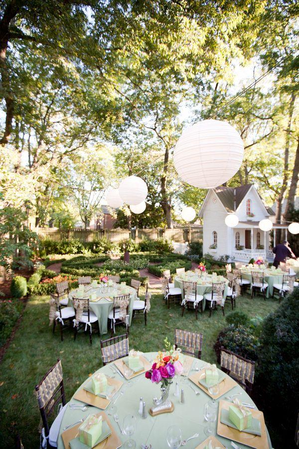 Elegant Backyard Wedding Reception on Elegant Backyard Ideas id=12901