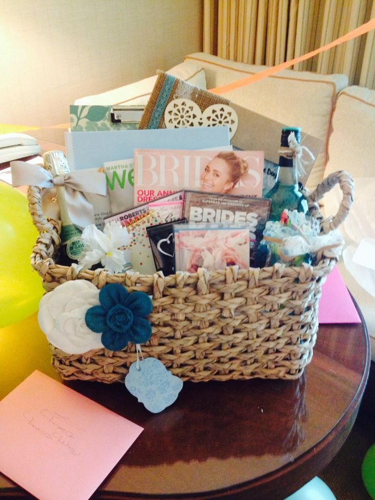 engagement party gift ideas wedding planning gift basket 12486