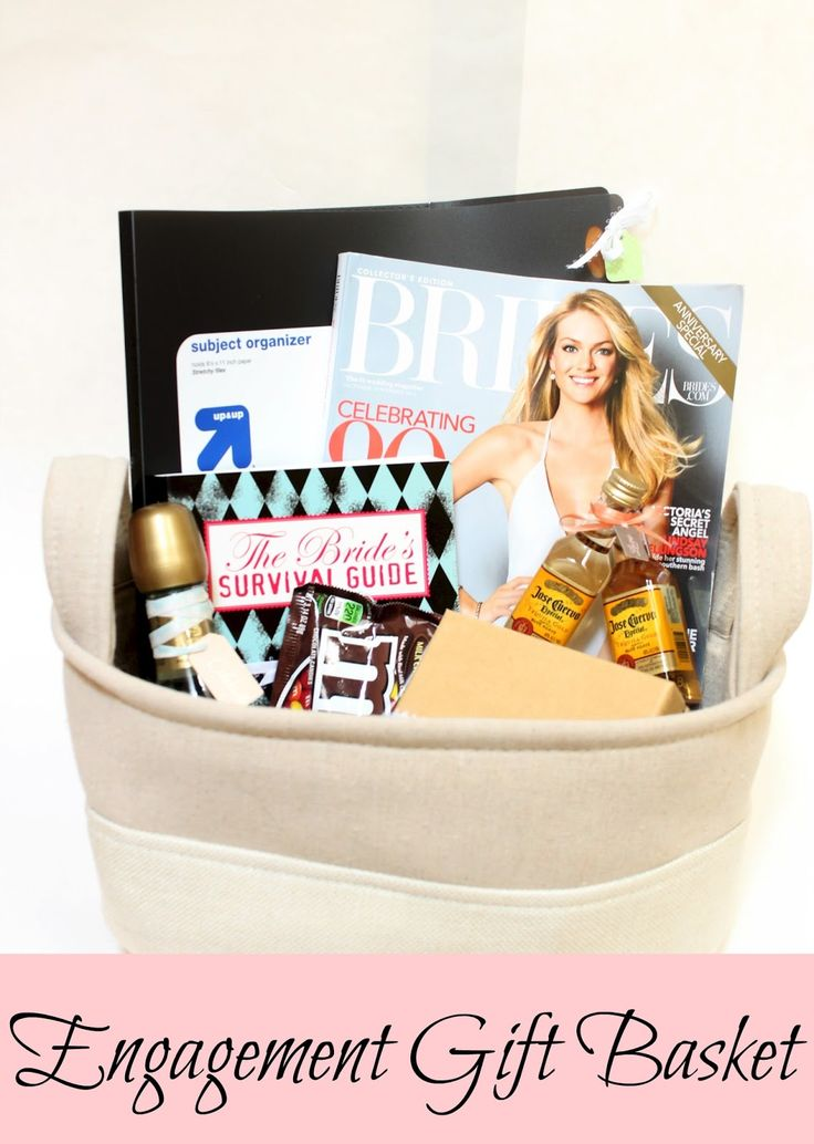 17 Best Ideas About Engagement Gift Baskets On Emcraft Org