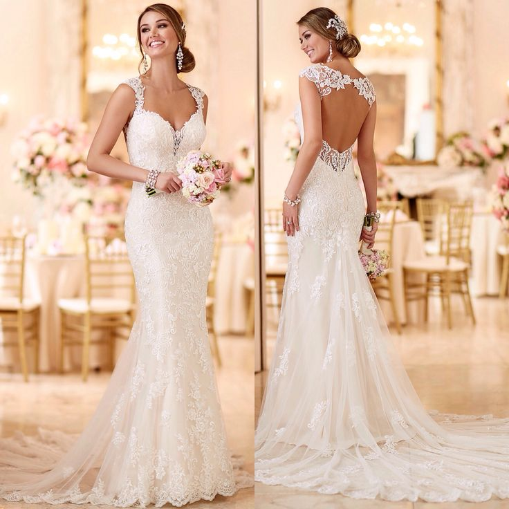 Fitted Lace Wedding Dress. Wedding Dresses. Wedding Ideas And ...