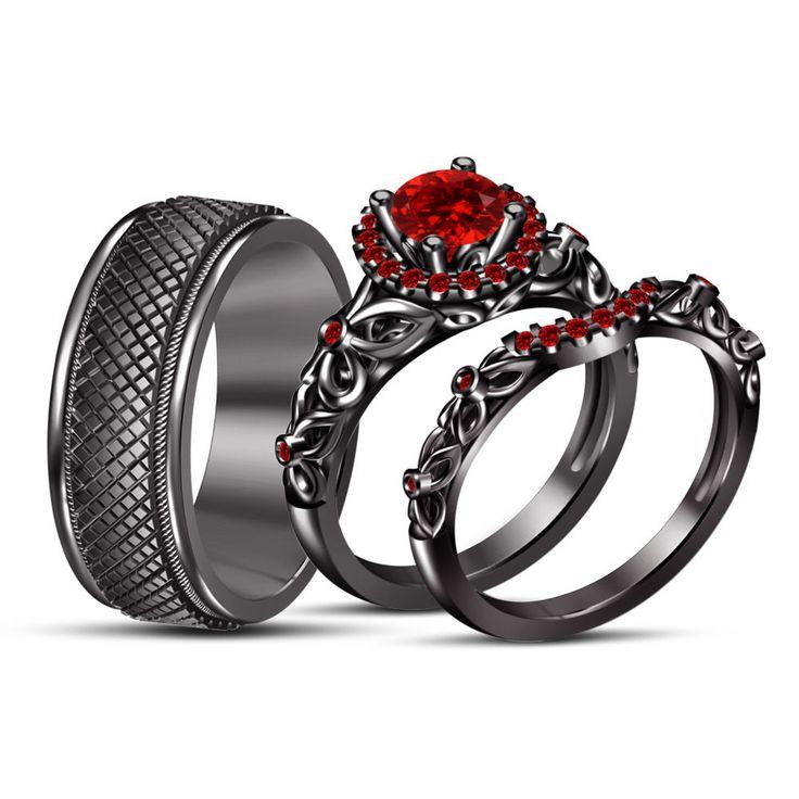 17 best ideas about garnet wedding rings on emasscraft org - Garnet Wedding Rings