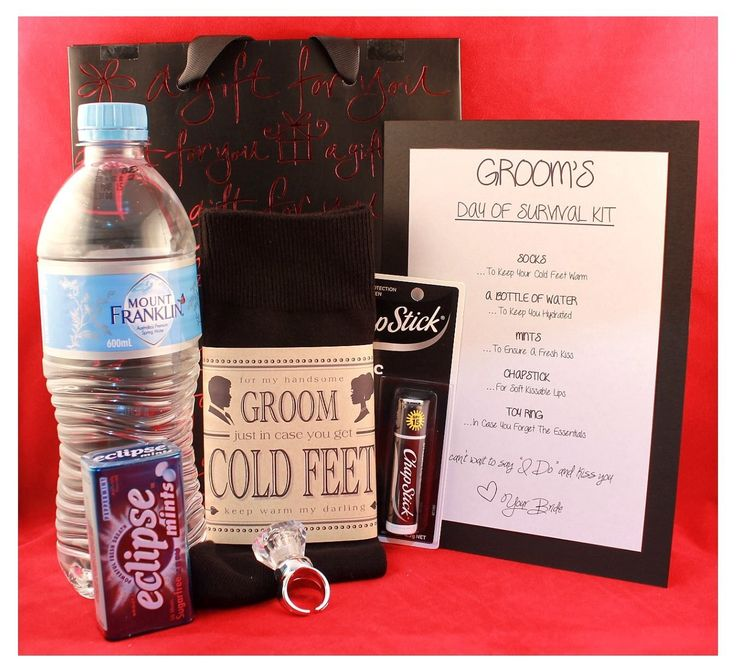 17 Best Ideas About Groom Survival Kits On Emcraft Org