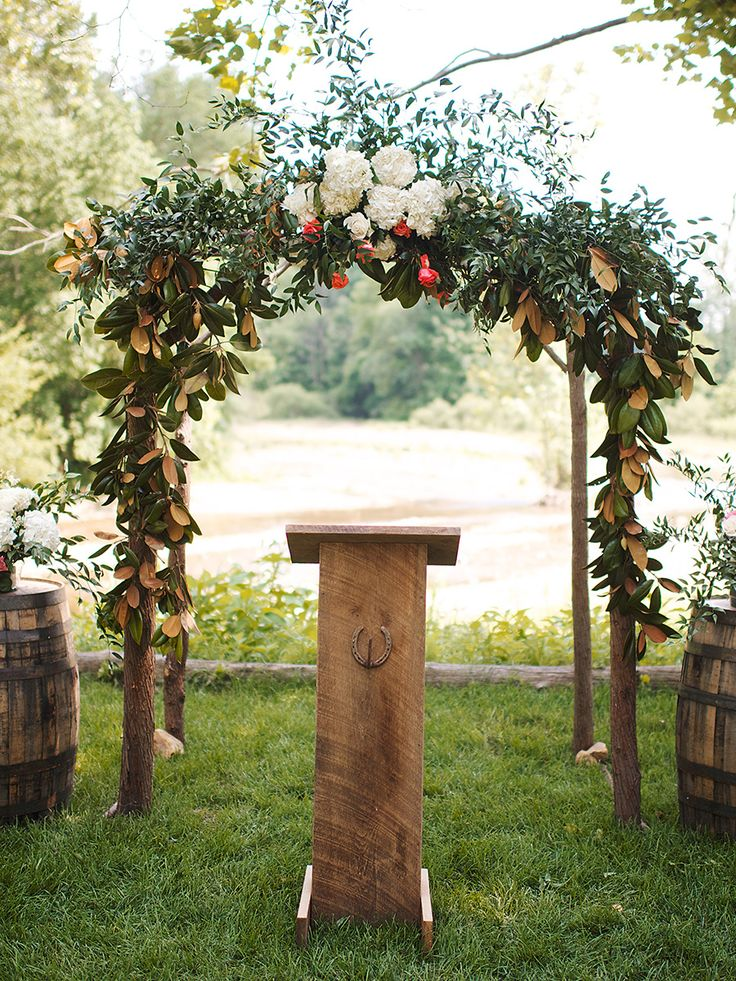 Wedding Arch Ideas Outdoor Weddings