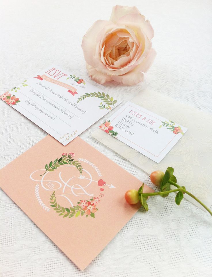 17 best ideas about peach wedding invitations on emasscraft org - Peach Wedding Invitations
